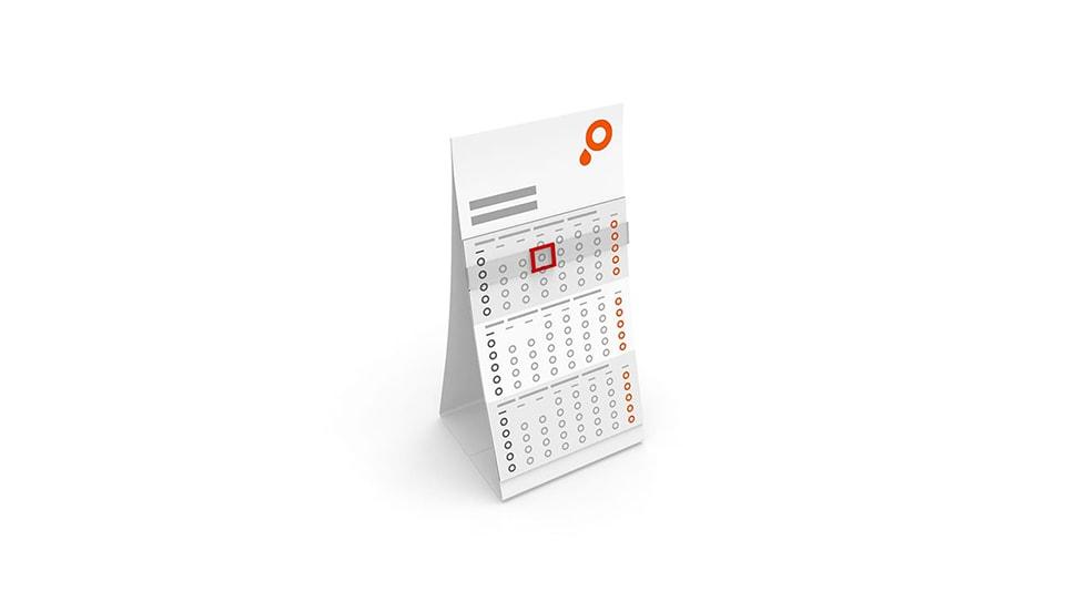 3 Month Desk Calendars
