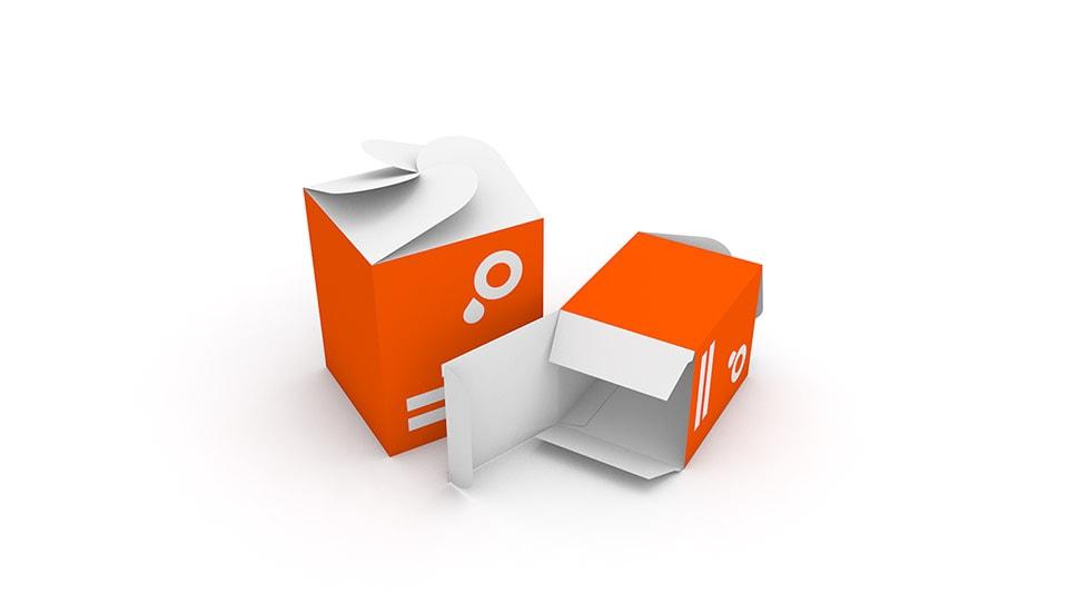 4 Corner Petal Box