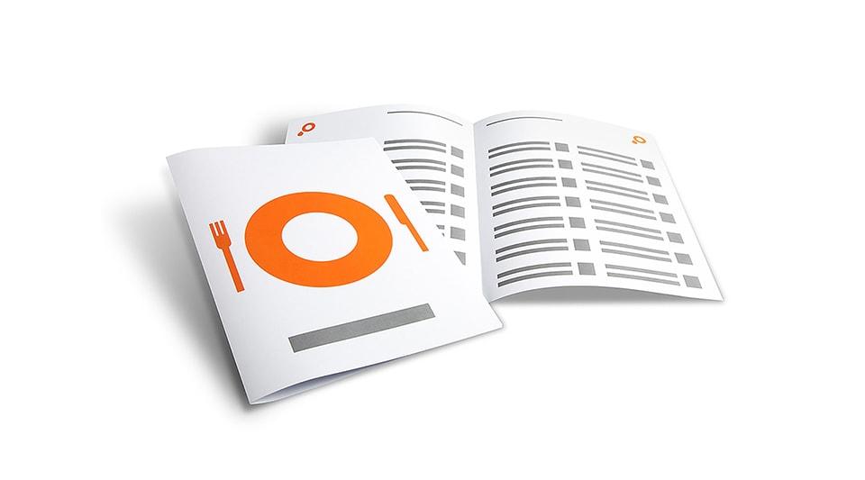 Brochure Menus