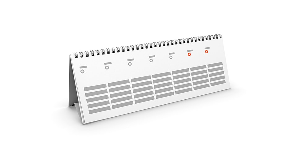 Desk Calendars (digital)