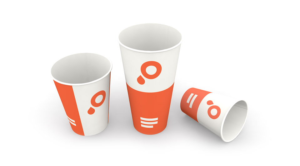 Paper Cup Printing - coffee cups, ice cream tubs and more