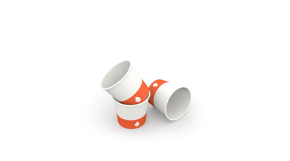 Gobelets en carton pour café expresso