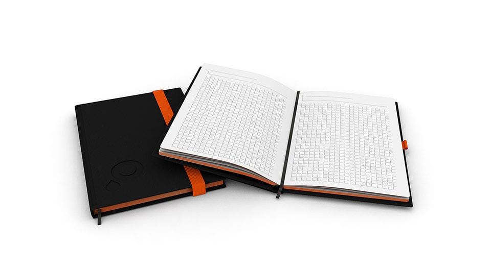 Notizbücher Design