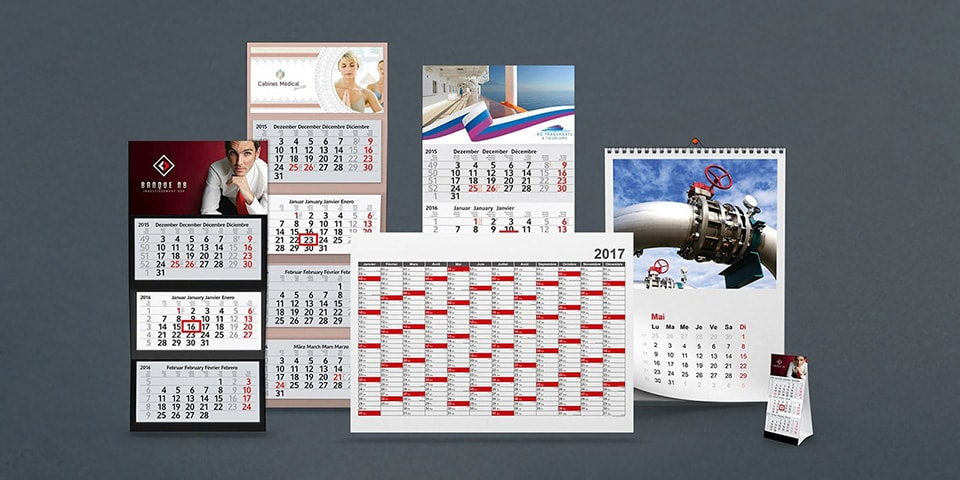 Imprimer calendriers